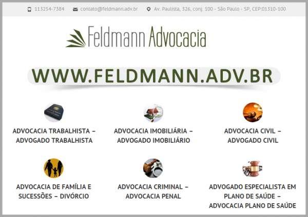 Advocacia trabalhista | direito trabalhista advogado | escritório feldmann