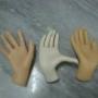 Mãos femininas