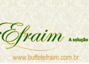 Buffet à Domicílio SP | Festas Efraim | Buffet Efraim
