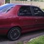 Fiat SIena EL 1.6 ano 1998 vermelho