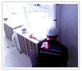 Manutenção de ar condicionado(limpeza)11 4647-6294