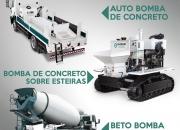 Fabricação e Vendas Bombas de Concreto