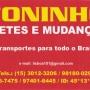 mudanças e fretes para todo brasil