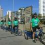 bicicleta banner propaganda publicidade