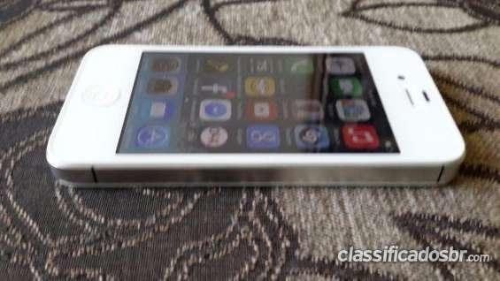 Atenção! iphone 4s 16gb branco impecãvel primeira mão