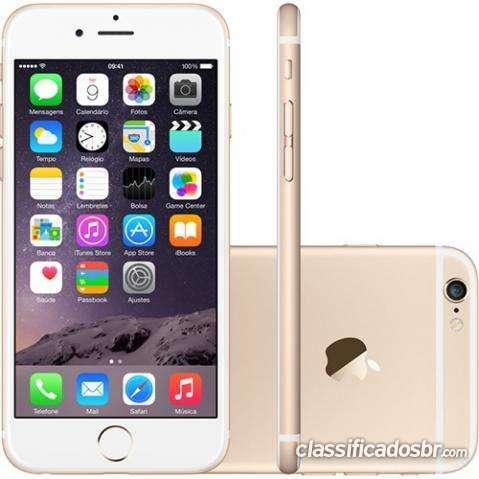 Preço barato iphone 6 16gb dourado - promoção imperdível na caixa.