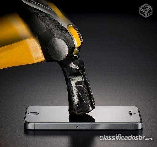 Tenho para venda em bom estado película vidro temperado iphone 4/4s/5/5s/5c blind você pode ver hoje