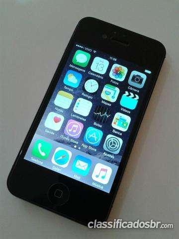 Oportunidade vendo iphone 4s 16 gb impecável! urgente