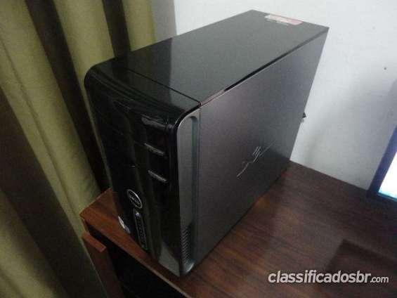 Estou vendendo computador dell core 2 duo/ 2gb memoria/ leitor sd/ gravador dvd/ 300gb hd promoção imperdível