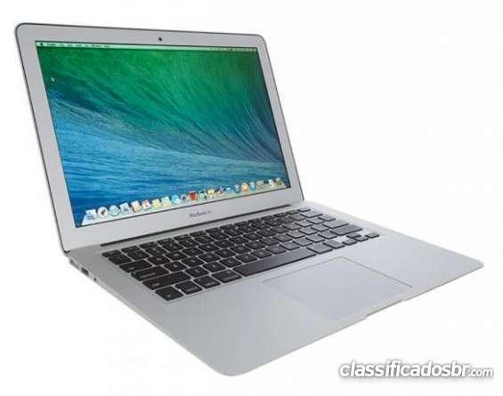 Estou vendendo a um bom preço macbook air 13 modelo 2014 1.8ghz i5 / memória 4gb / 128gb ssd excelente oferta