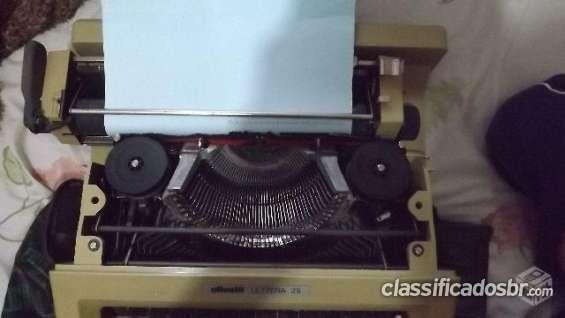 Fotos de Tenho para venda em bom estado maquina de escrever olivetti letteta 25 semi novo 4