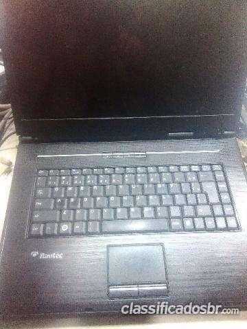 Oportunidade notebook itautec com 2 gb de memoria 80 gb de hd promoção imperdível
