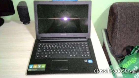 Preço barato notebook lenovo i3 2.4gh - 4gb - 500gb - novíssimo na caixa.