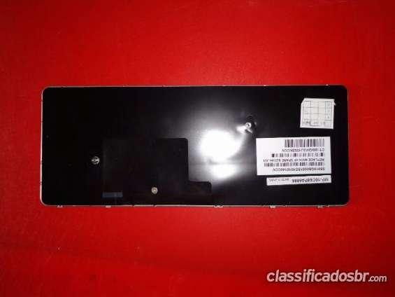 Urgente! teclado hp mini 210-2000 210-3000 prata br ok, fechado