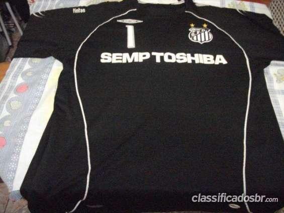 Oferta para venda camisa de goleiro de 2008 santos hoje
