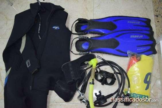Vendas oferta viagem equipamento completo de mergulho em perfeito estado