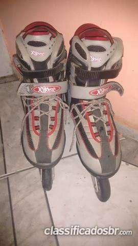 Tenho para venda !!! patins x seven bec 05 n* 40-41 urgente