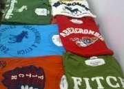 Camisetas Abercrombie e Hollister 10 Peças Atacado Masculina www.pointshop.com.br
