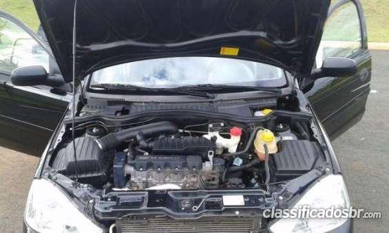 Bom preço chevrolet corsa hatch 1.4 maxx completissimo + air bag duplo e som - troco - 2012 semi novo