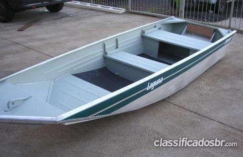 Tengo a la venta !!! barco aluminio 3,50 mts modelo laguna 3500 bom negocio