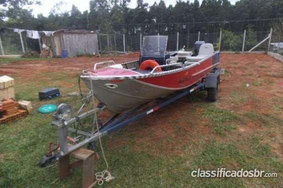 Fotos de Tengo a la venta como nuevo barco de alumínio em excelente estado ok, cerrado 3