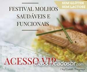 Festival de molhos saudáveis e funcionais