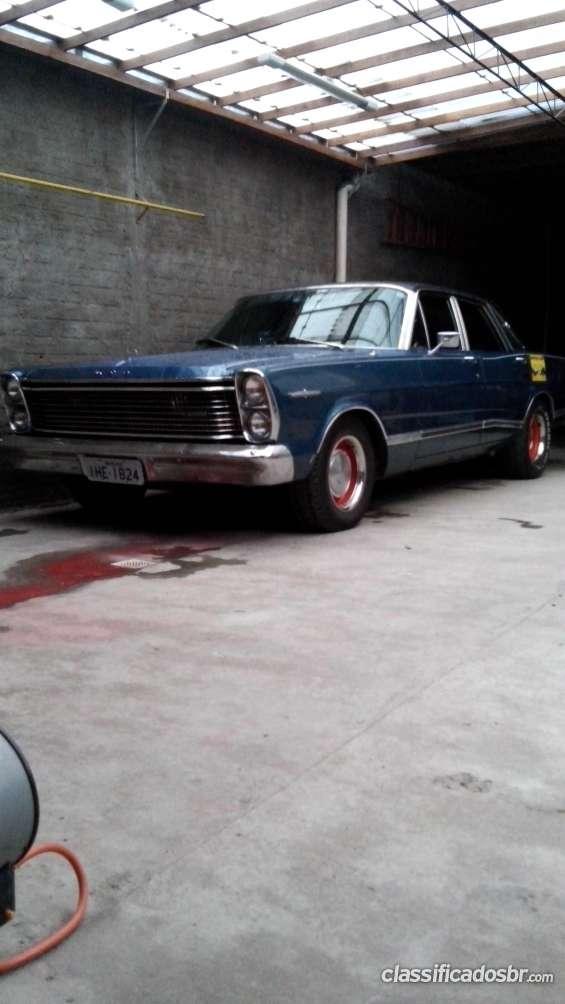 Ford landau 1972 motor 292 gasolina original 99% carro de pelotas rs