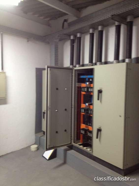 Medição de energia e instalações elétricas.