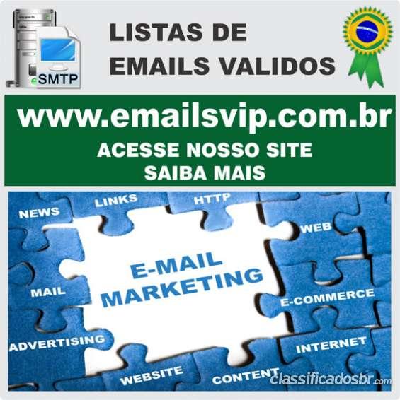 Emails de pessoas, email de empresas, lista de empresas