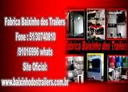 Fabrica especializada em fabricação de trailers e veículos para lanches Fone : 51/31125350