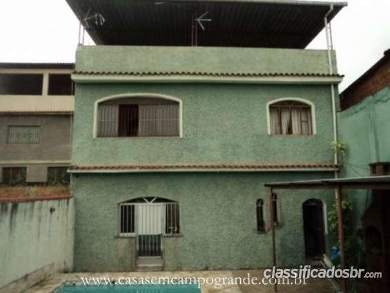 Campo grande - parque paula - casa duplex 2 suítes - 140m2 - 1 vaga -piscina/churrasqueira