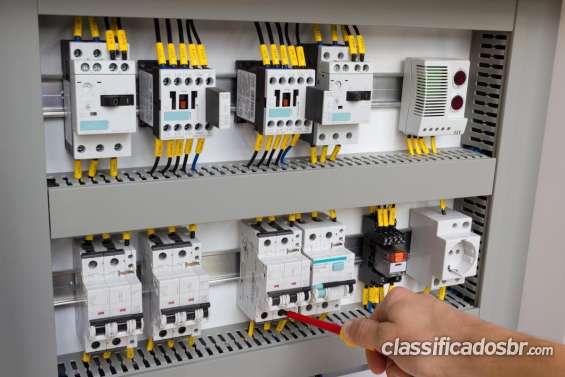 Manutenção elétrica industrial sorocaba