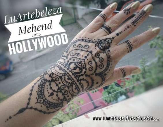 Mehend tatuagem de henna