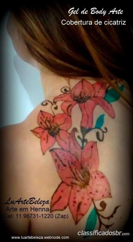 Tatuagem de henna em sao paulo