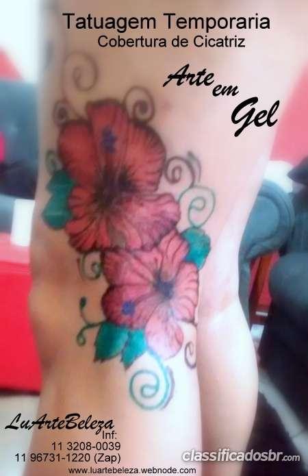 Tatuagem temdporaria em sao