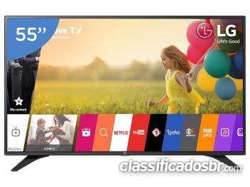 """Smart tv led 55"""" lg full hd 55lh6000"""