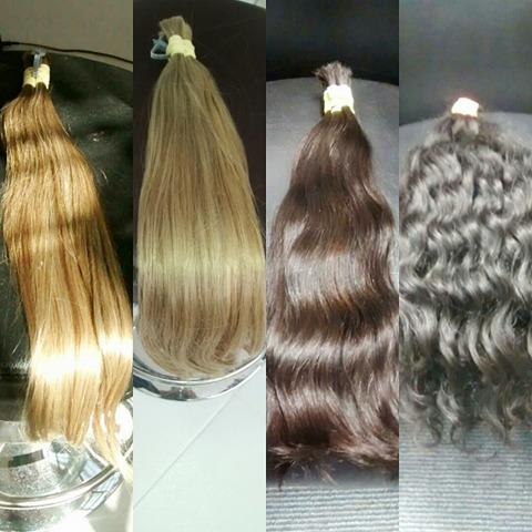 Cabelos naturais mega hair