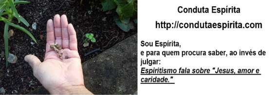 Conduta espírita projeto semear