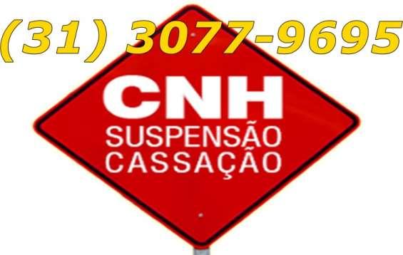 Defesa de suspensão de cnh