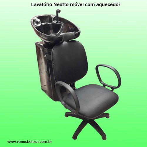 Lavatório completo com cadeira para cabeleireiro