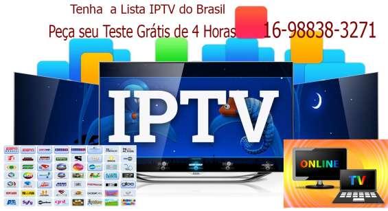 As melhores lista iptv do brasil com 3 servidores