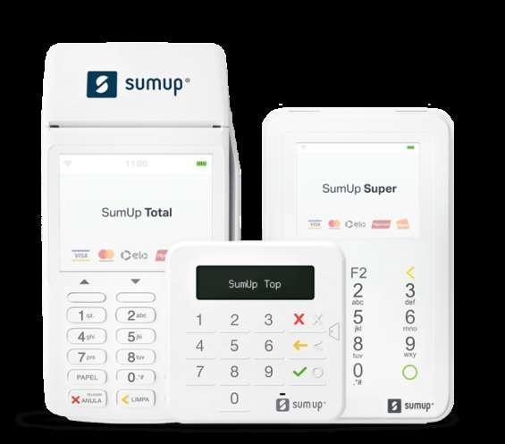 Sumup - maquina de cartão de crédito e débito sem mensalidade