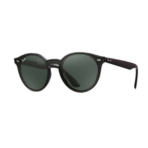 Oculos de sol ray-ban blaze round preto unissex 50%off só hoje