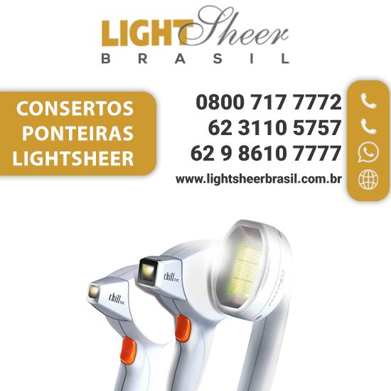 Ponteiras lightsheer vendas e concertos