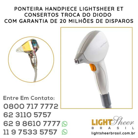 Handpiece do light sheer