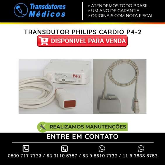 Assistência técnica transdutores philips