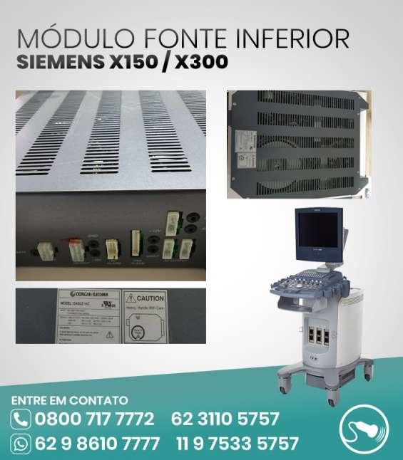 Placas ultrassom siemens x300, x150 - módulos fonte inferior e superior 9,99