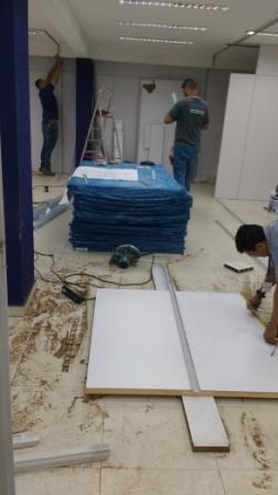 Montagem divisórias, montagem forro, montagem dry wall, montagem divisória gesso
