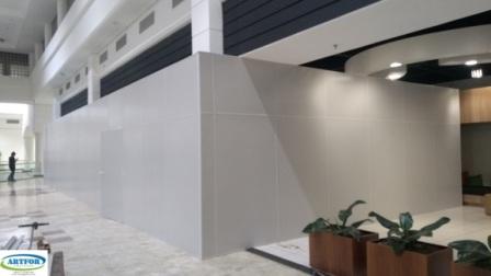 Aluguel de tapumes, locação divisórias shopping, divisórias eucatex call center, centro